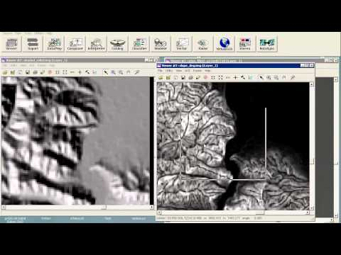 analysis of digital elevation models and usage of conditional statements in Erdas Imagine