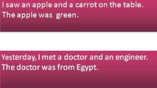 تعلم اللغة الانجليزية - فيديو 6 - The
