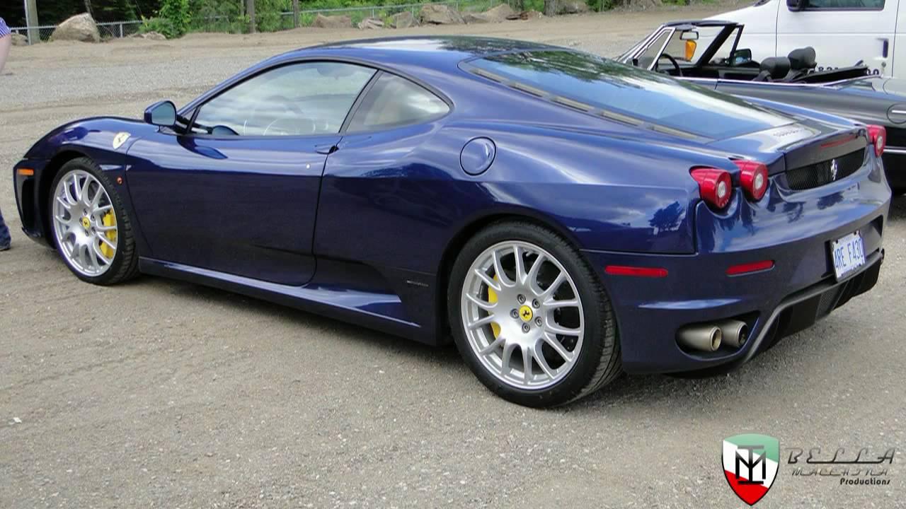 Blue Ferrari F430 Youtube