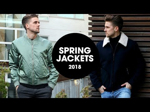 5 Awesome Men's Jackets For Spring From Tiger Of Sweden 2018