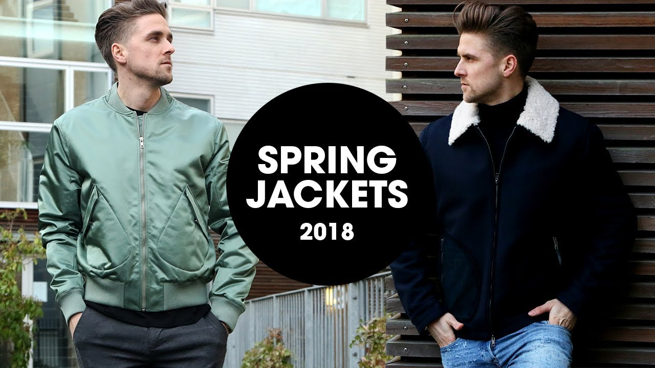 5 Awesome Men S Jackets For Spring From Tiger Of Sweden 2018 Youtube