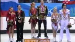 2006 Olympics medal ceremony