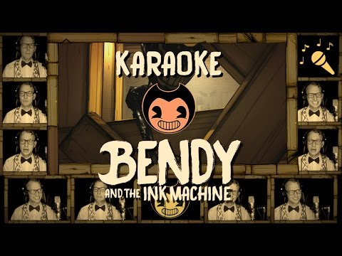 BENDY AND THE INK MACHINE song - KARAOKE w/ Lyrics (Devil's Swing) - Vocal Instrumental