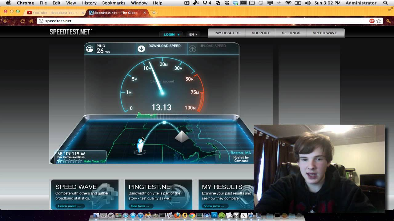 how to find your internet speed
