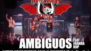 AMBIGUOS (con Juanra KOP) DIRECTO Non Servium - Antifa Kombat Tour 2012