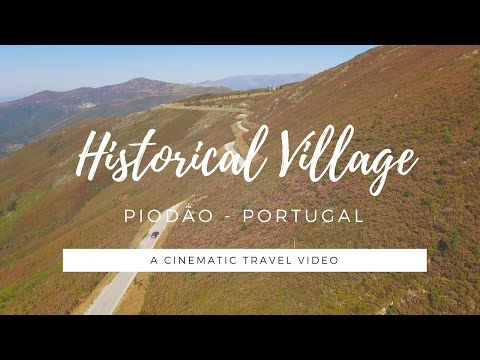 HISTORICAL VILLAGE of PIODÃO in Portugal - a cinematic travel video