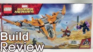 [Live Lego] 레고 76107 어벤져스 타노스 최후의 전투 조립 리뷰