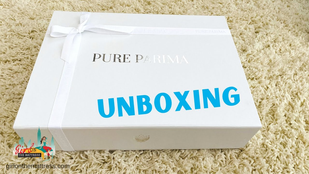Pure Parima Unboxing - Certified Egyptian Cotton Sheets