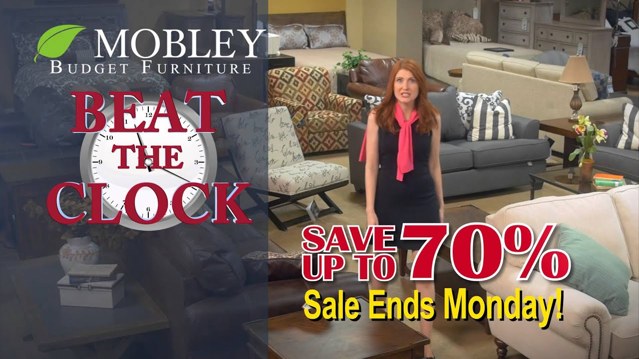Mobley Furniture Outlet: Beat The Clock