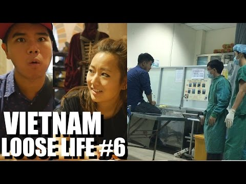 Living in Vietnam: Locked Up, Went to the Hospital, & Nina's Back. LOOSE LIFE #6