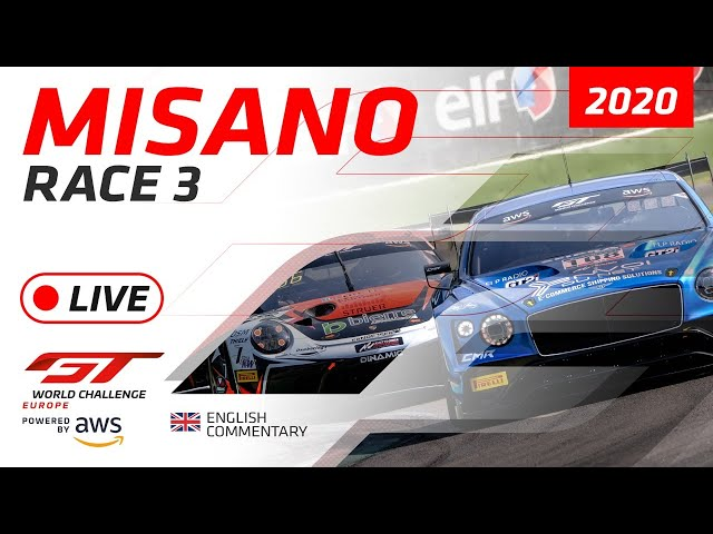RACE 3 - MISANO - GTWC EUROPE 2020 - ENGLISH