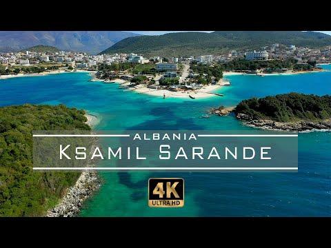 Ksamil, Sarande - 🇦🇱 Albania 2020 [Drone Footage] 4K