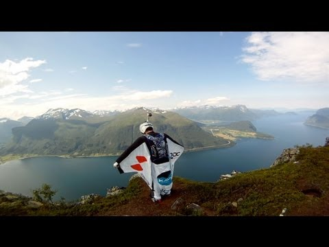 GoPro 3D: Wingsuit Base Jumping in Norway with GoPro Bombsquad