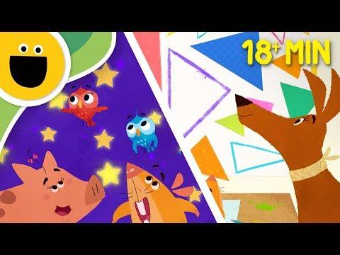 Miss Brushes Art Academy 18 min Compilation! | FULL Episodes (Sesame Studios)