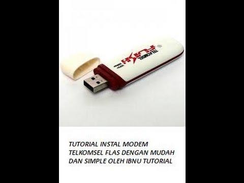 Cara Instal Modem Telkomsel Flash Dengan Simple Dan Mudah Simple