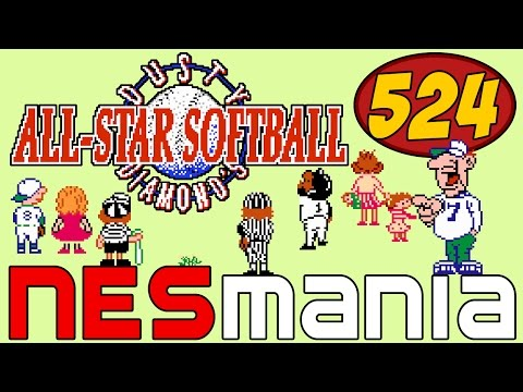 524/714 Dusty Diamond's All Star Softball - NESMania