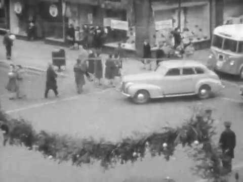 Downtown Cedar Rapids Iowa December 1940 & January 1941