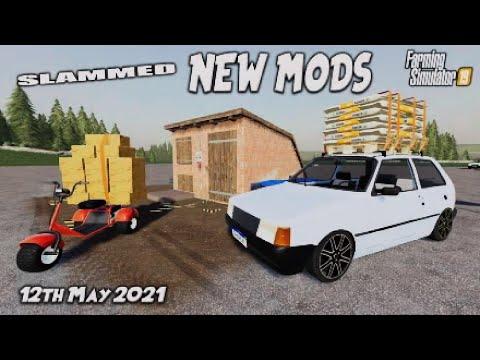 FS19 | SLAMMED NEW MODS | (Review) Farming Simulator 19 | 12th May 2021.