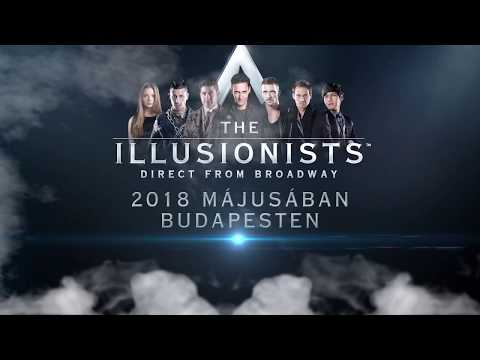 The Illusionists - Direct from Broadway - Tüskecsarnok - 2018. május 2-6.