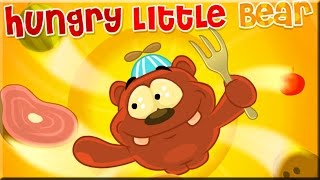 Hungry Little Bear Game Walkthrough (All Levels)