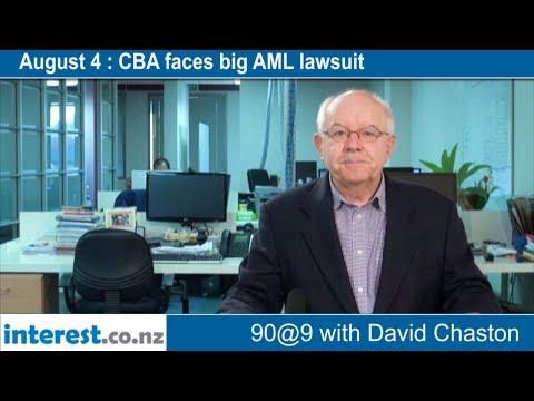 90 seconds @ 9am : CBA faces big AML lawsuit