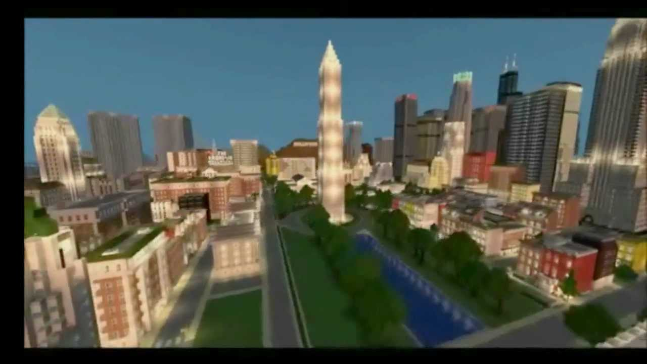 Empirepolis Enormous American CityDownload YouTube - Minecraft moderne hauser plane