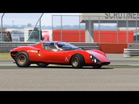Alfa Romeo 33 Stradale Top Gear Testing