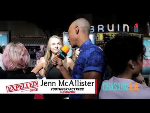 """Jenn McAllister Chats w/ Chasing LA at """"Expelled"""" Movie Premiere!"""