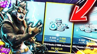 NEW ON FORTNITE: Battle Royale! (Glitch Skin Palier 100 - VBucks)