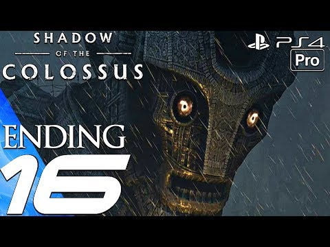Shadow of The Colossus Remake - Gameplay Walkthrough Part 16 - Ending & Malus Final Boss (PS4 PRO)