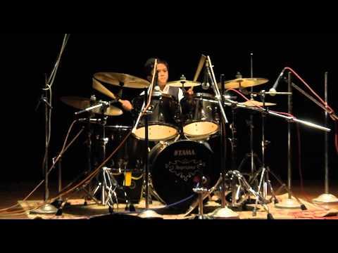 The young drummer: Steven Samuel Devassy at TEDxTirupati