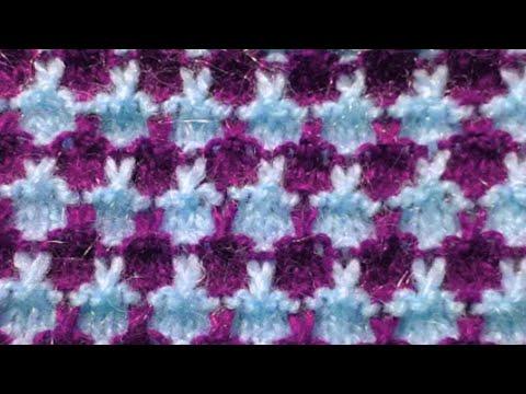 दो कलर का स्वेटर डिजाइन/  Two Colour Sweater Design