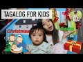 Christmas Words & Greetings in Tagalog (Filipino) | Tagalog for Kids