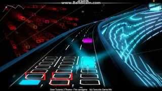Audiosurf - The Cardigans - My Favorite Game (Gran Turismo 2 remix)