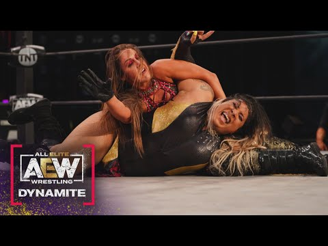 Watch the Amazing Finish to the Semi Final Match between Nyla Rose & Dr. Britt Baker | AEW Dynamite