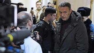 Жёсткость Кремля-Навальному дом.арест и запрет на инет / A24