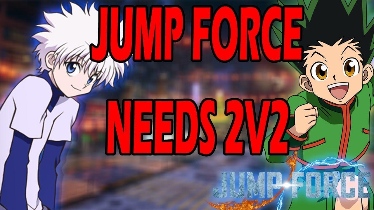 JUMP FORCE NEEDS CO-OP