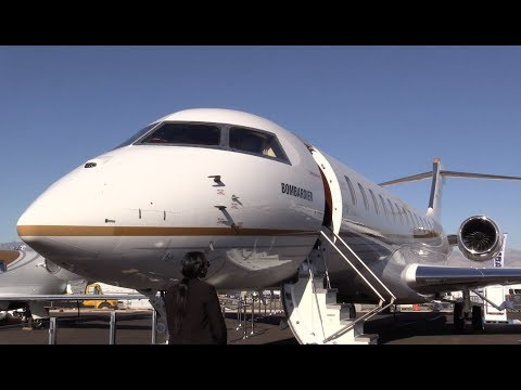 Bombardier Global 7000's Amazing Cabin