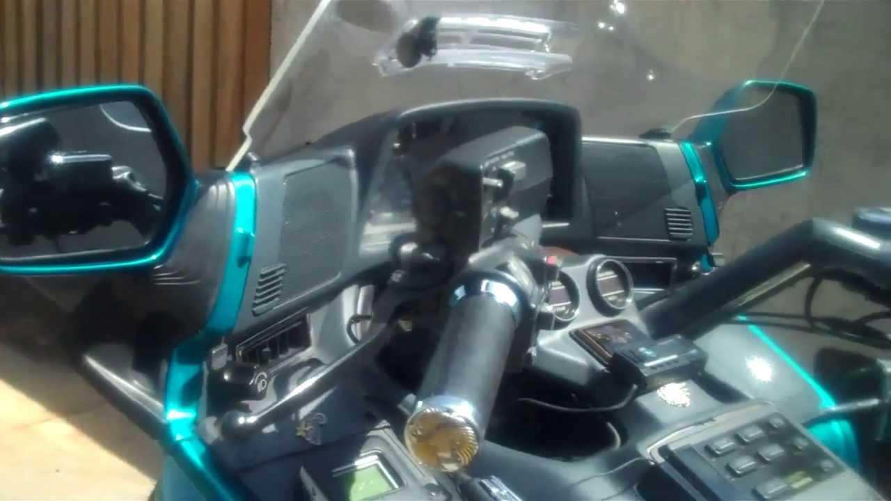 1993 Honda Goldwing GL1500se Speaker Upgrade. How To Do it ...