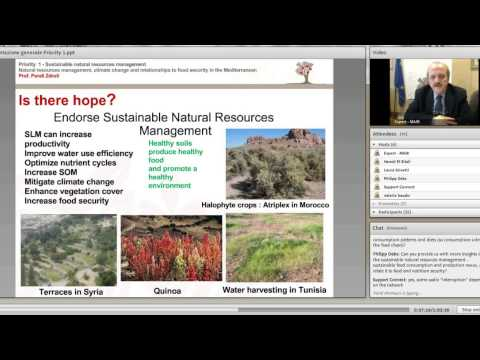 Sustainable Natural Resources Management - January 22nd 2013
