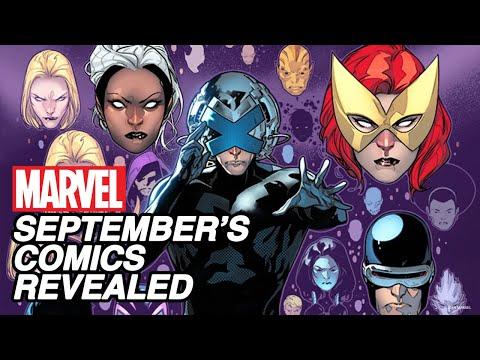 EXCLUSIVE: September's New Marvel Comics Revealed! | Marvel's Pull List