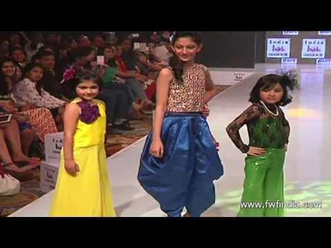 Bollywood Celebs Walk the Ramp at India Kids Fashion Show