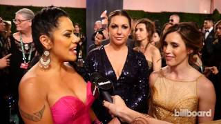 Lila Downs, Nina Pastori & Soledad on the Latin GRAMMY Awards Red Carpet 2014