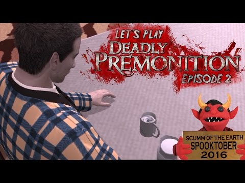 Let's Play Deadly Premonition Episode 2:  FK in the Coffee.