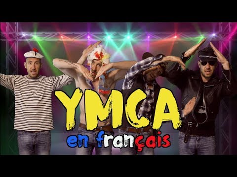 The Village People - YMCA traduction en francais COVER Frank Cotty