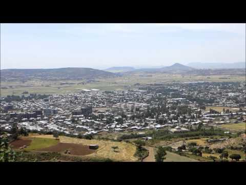 View of Axum city, Ethiopia