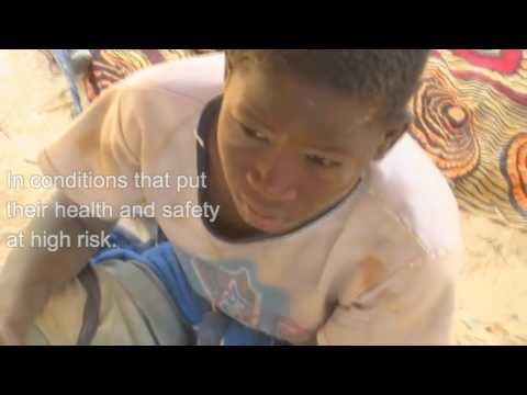 African Child Gold Miners (English PSA)