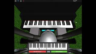 Roblox - Song of storms on piano