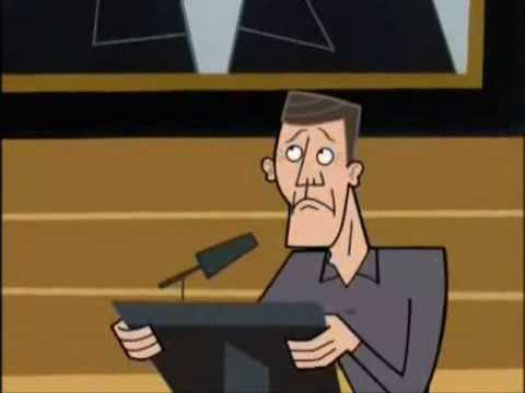The Janitor from Scrubs had an origin story on the Canadian animated show, Clone High, which was also co-created by Bill Lawrence
