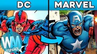 ¡Top 10 Personajes que DC ROBÓ de MARVEL! streaming